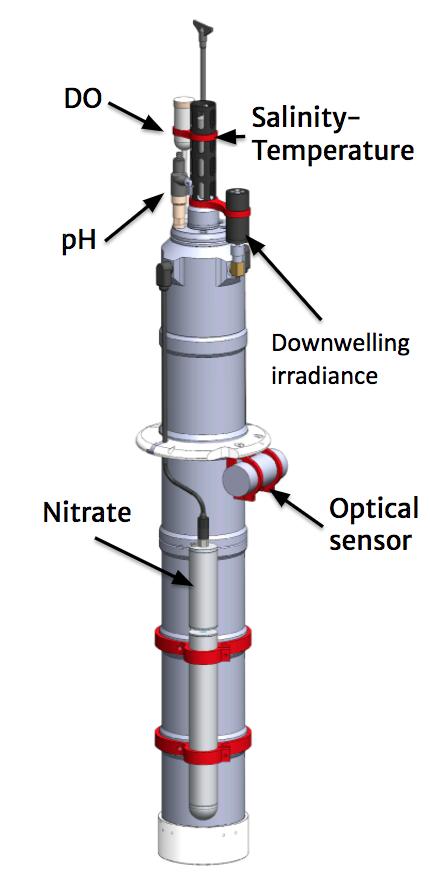 diagram of solo bgc argo float