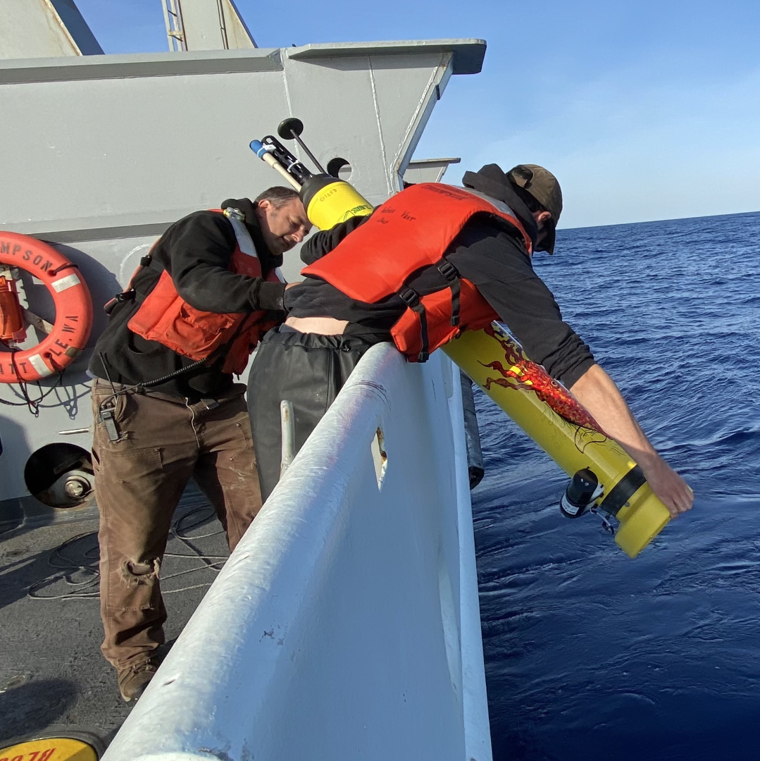 Deployment of GO-BGC float