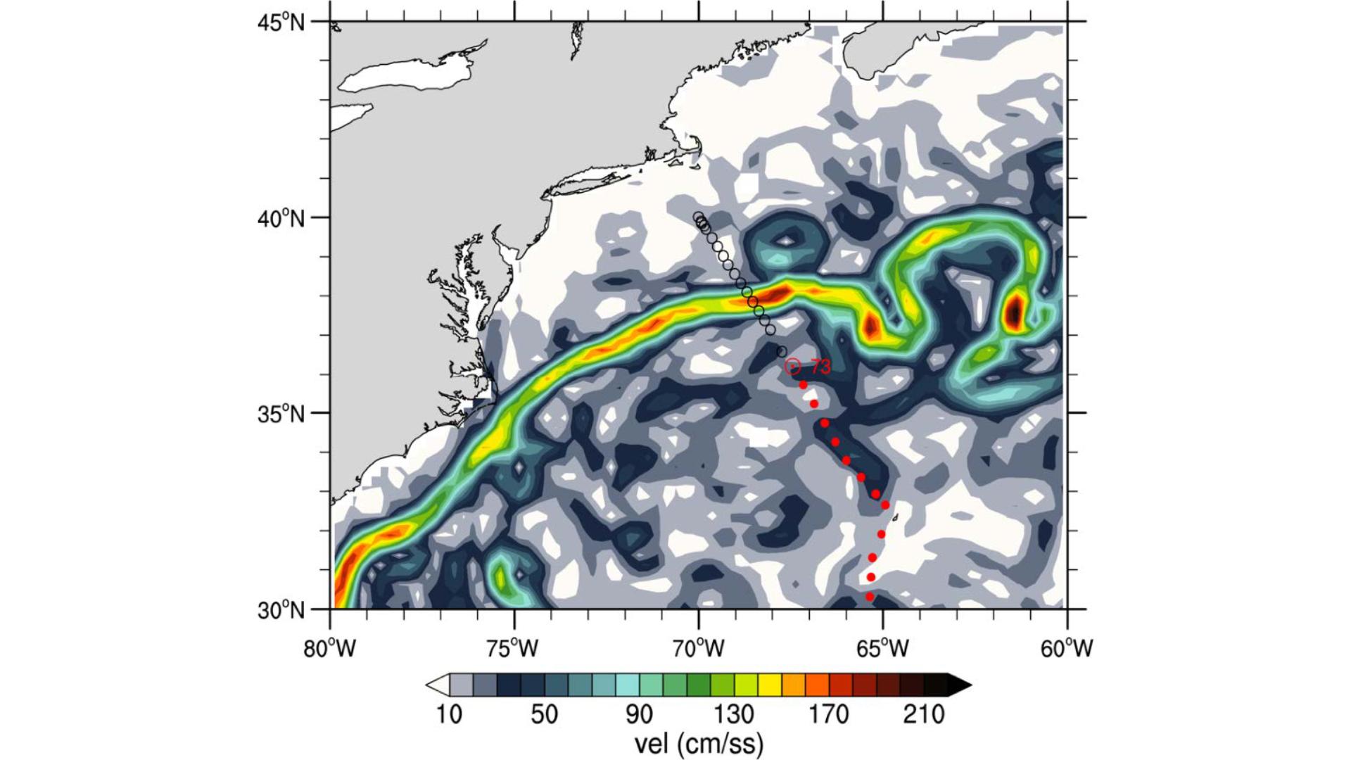 geostrophic velocity figure